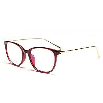 Retro - Gläser. Flache Brille , Goldrahmen