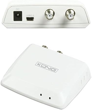 TV & Radio USB SATRECEIVER camping Receptor Caja Receptor ...