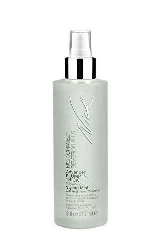 Nick Chavez Beverly Hills Advanced Plump N Thick Thickening Styling Mist – Hair Thickener For All Hair Types – Increase Hair Volume And Strengthen Hair – 8 Fl Oz.