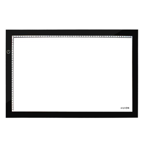 Huion 17.7 Inch LED Light Tracing Pad Artcraft Light Box - A4