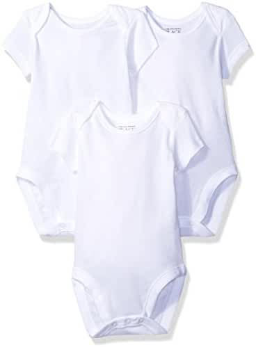 The Children's Place Baby Short Sleeve Bodysuit (Pack of 3)