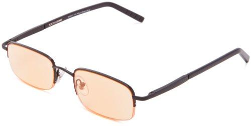 Price comparison product image Foster Grant Men's Harrison Rectangular Reading Glasses, Black, 51 mm / + 1