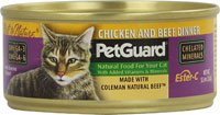 PetGuard Canned Cat Food Chicken and Beef -- 5.5 oz