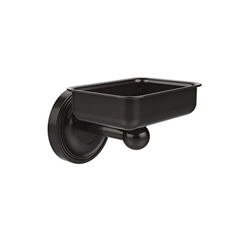 Allied Brass R-WG2-ORB Regal Collection Wall Mounted Soap Dish, Oil Rubbed Bronze (Regal Rectangular Pedestal)