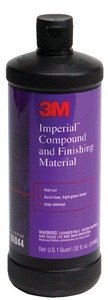 (New Imperial Compound And Finishing Material 3m Marine 06044 Imperial Compound/Finishing Material Quart)
