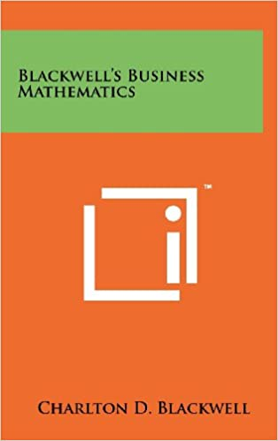Blackwell's Business Mathematics