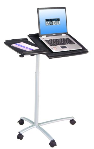 Techni Mobili Laptop Stand Desk in Graphite