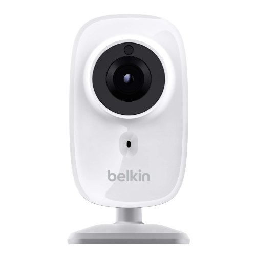 Belkin NetCam HD Wireless IP Camera for Tablet and Smartphone with Night Vision and Digital Audio (F7D7602)