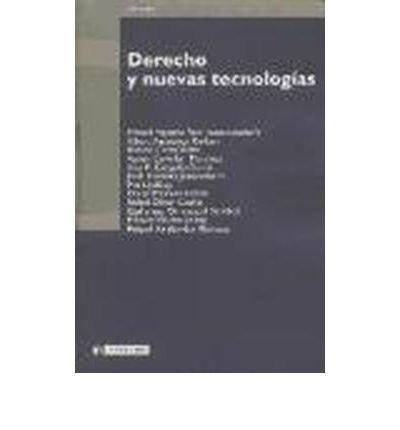 Download Derecho y nuevas tecnolog?as (Paperback)(Spanish) - Common pdf epub