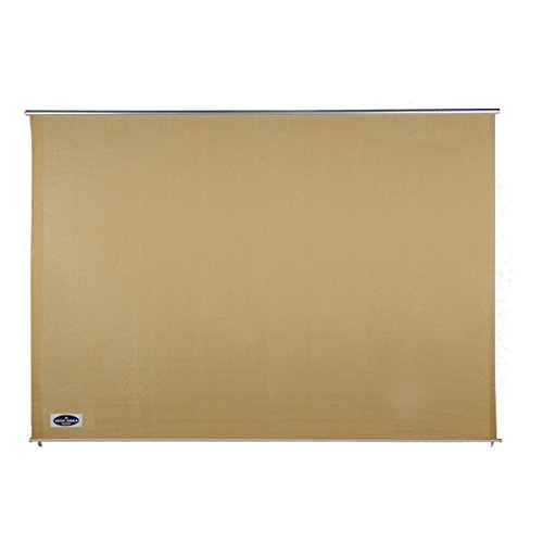 Cool Area Exterior Roller Shade Sunshade Blinds 8' x 6' for Patio Pergola Porch, Sand