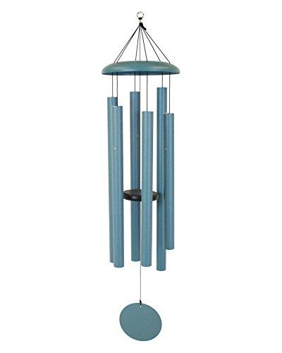 Patina Garden Bell - Corinthian Bells 53-inch Windchime, Patina Green