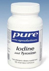 L'iode pur Encapsulations et tyrosine - 120 gélules