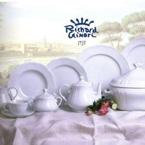 Richard Ginori Antico Doccia White Tea Saucer Only