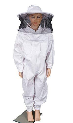 Amazon.com: BeeCastle - Traje de apicultura de algodón para ...