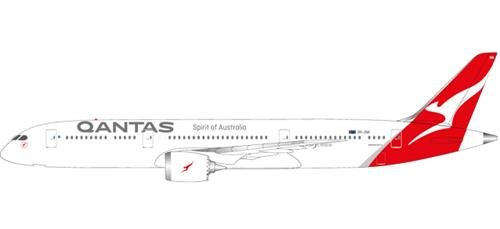 (Herpa 611770 Vehicle (Qantas Boeing 787 Dreamliner - VH ZNA)