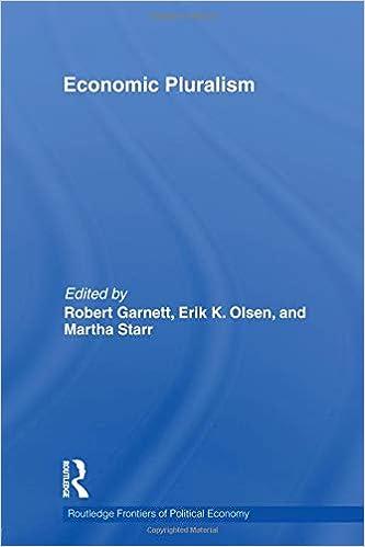 Economic Pluralism (Routledge Frontiers of Political Economy)