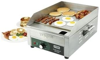 """Waring WGR140 Electric Countertop Griddle 17"""" - 120V-WGR140"""