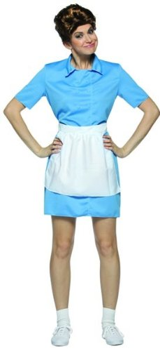 Brady Bunch Alice Housekeeper Costume