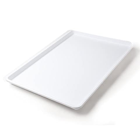 18 x 26 Inch Plastic Tray White (Cafeteria Trays)