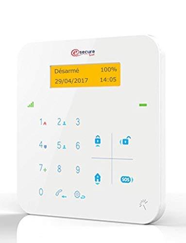 Alarma A9 inalámbrica GSM con sirena desplazamiento + cámara ...