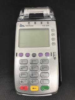 Verifone Vx520 EMV CLTS 32MB Credit Card Terminal With Protective Cover by VeriFone