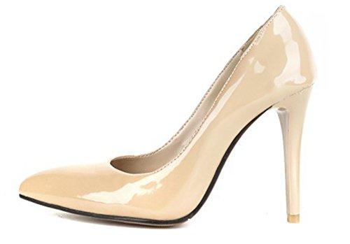 Chaussures De Aisun Abricot Femme Travail Simple Escarpins Cheville q4wEHtxw