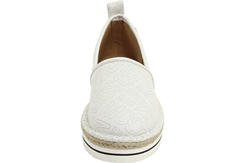 Love Moschino Espadrille Slip On Womens Shoes White by Love Moschino (Image #4)'