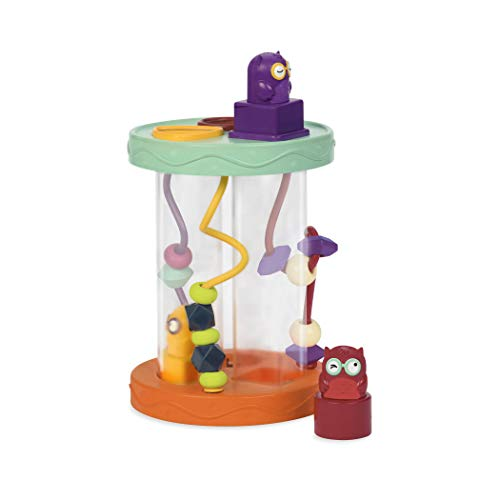 B. Toys - Hooty-Hoo Owl - Shape Sorter with Whacky Sounds & Bead Toy Maze - Fun Educational Toys for Toddlers & Babies