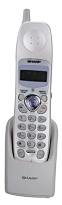 Sharp UX-K01 2.4 GHz Cordless Handset for UX-CC500 Fax Machine