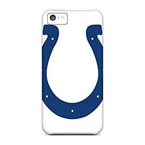 Hot-cat Design High Quality Indianapolis Colts Cover Case With Excellent Style For Iphone 5c