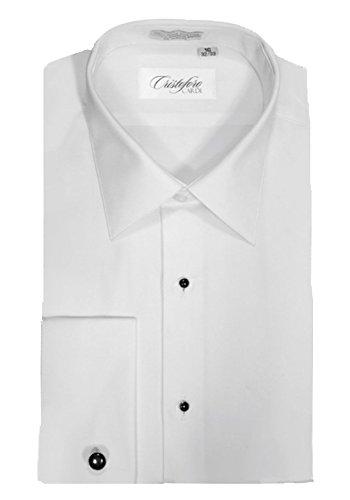 Cardi Men's Tuxedo Shirt Non-Pleated 100% Cotton