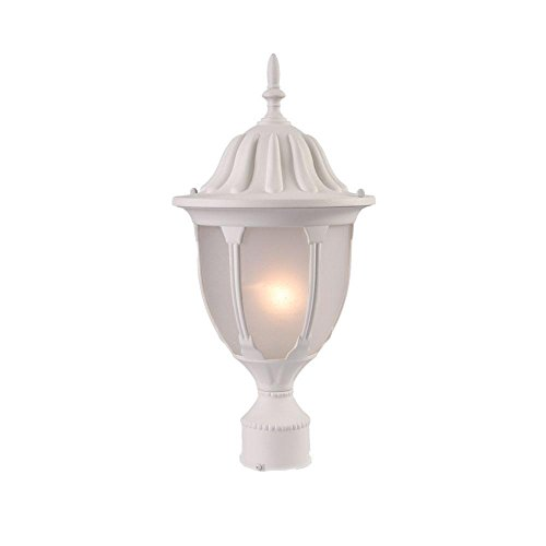 Acclaim 5067TW/FR Suffolk Collection 1-Light Post Mount Outdoor Light Fixture, Textured White Review