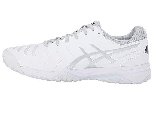 [asics(アシックス)] メンズランニングシューズ?スニーカー?靴 Gel-Challenger 11 White/Silver 10.5 (28.25cm) D - Medium