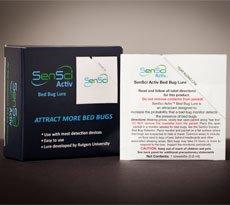 Sensci Activ Bed Bug Lure (12 Pack) by sensci