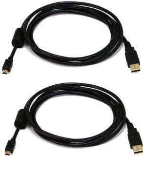 Extra largo 3 Metre USB chapado en oro jugar y cable de carga para ...