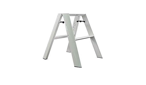 Stool Escaleras de pequeña escala Escalera plegable, Taburete elevador de aluminio con antideslizante - Plataforma de trabajo multipropósito, para trabajos impares, bricolaje, decoración, hogar y come: Amazon.es: Salud y cuidado personal