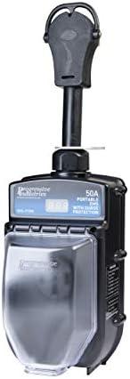 PROGRESSIVE INDUSTRIES EMS-PT50X Portable RV Surge Protector 50 A Renewed