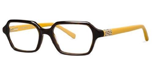 Tory Burch Eyeglasses TY2043 1274 Dk Tortoise Mustard Demo 50 17 - Case Burch Tory Eyeglass