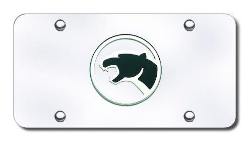 - Mercury Cougar Chrome Logo on Chrome License Plate
