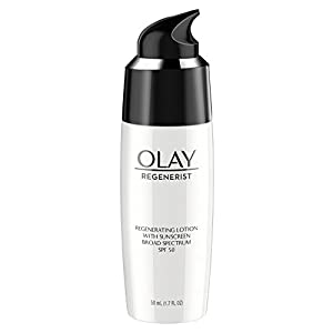 Olay Regenerist Regenerating Face Lotion With Sunscreen Broad Spectrum SPF 50, 1.7 Fl Oz, Packaging May Vary