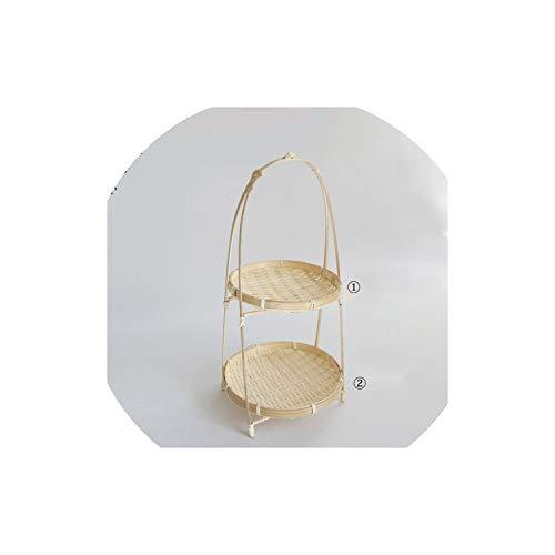Baskets Dish Handmade Home Decorate Storage Fruit Bread Food For Kitchen Organizer Panier Osier,TW050C
