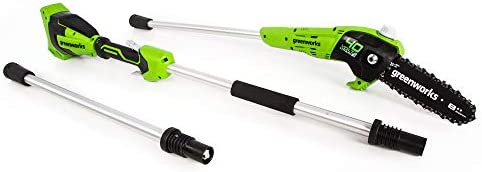Greenworks PS40B00 8-Inch 40V Cordless Pole Saw Battery and Charger Not Included, New Style