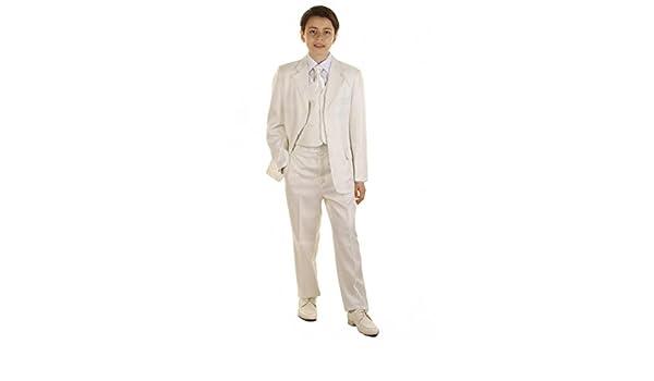 taufanzug Niño Pantalón Chaqueta corbata camisa marfil boda traje ...