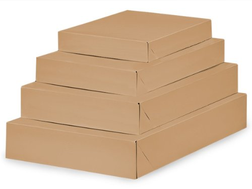 Brown Kraft Apparel Box Assortment (Unit Pack - 100)