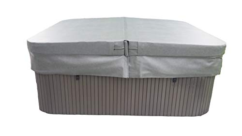 "BeyondNice Ultra Hot Tub Cover, Custom Made 6"" Thick Maximum Insulating Replacement Spa Cover - World's Only Design Your Own Ordering Wizard insures Every Cover is Made Perfectly for Every Customer!"