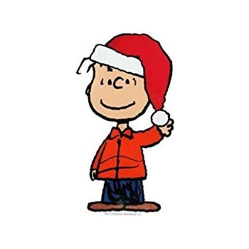 Peanuts Christmas Play Jelz Window Clings Snoopy Charlie Brown Linus NEW!