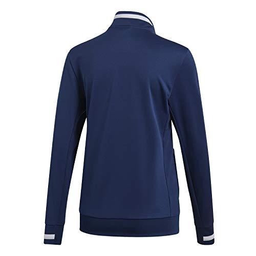 white Adidas Navy Jkt Donna Team Giacca T19 Trk W Blue Sportiva PwRxrfPvq