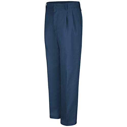 Red Kap Men's Pleated Work Pant
