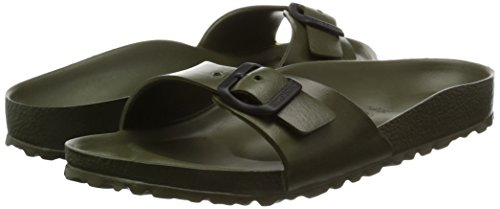 Birkenstock Madrid EVA Narrow Fit - Khaki 128253 (Green) Womens Sandals 38 EU by Birkenstock (Image #6)