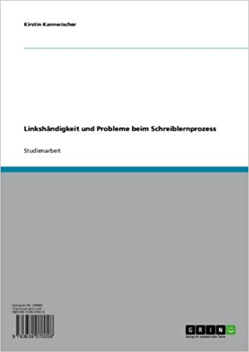 Vapaa lataus mp3-äänikirjoista Linkshändigkeit und Probleme beim Schreiblernprozess (German Edition) in Finnish PDF DJVU B007QH0Q86